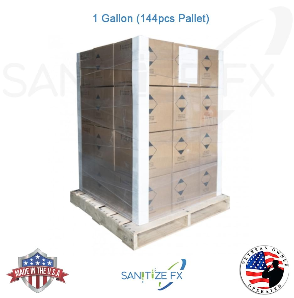 Hand Sanitizer - 144 gallon pallet SanitizeFX™